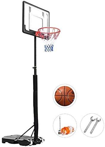 バスケットゴール バスケツトゴール バスケ ゴール 90分でポータブル高さ調節可能な屋内と屋外の可動バスケットボールのトレーニングフレームバスケットボールフープ、子供のバスケットボールスタン、アセンブル 室内 屋外用