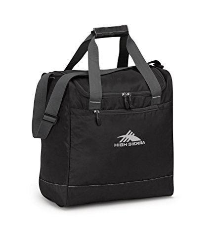 High Sierra Boot Bag, Black/Mercury