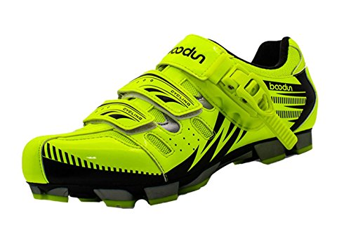 Liveinu Men's Bike Shoe Riding Shoes Green