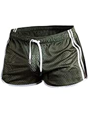 Xmiral Zwembroek heren transparant mesh sneldrogend mini boxershorts