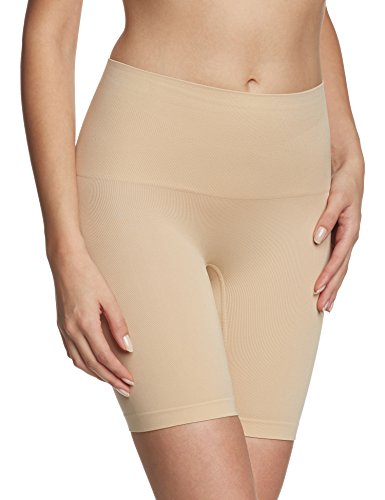 Flexees Women's Maidenform Flexee Slim Waisters Thigh Slimmer, Latte Lift, Medium