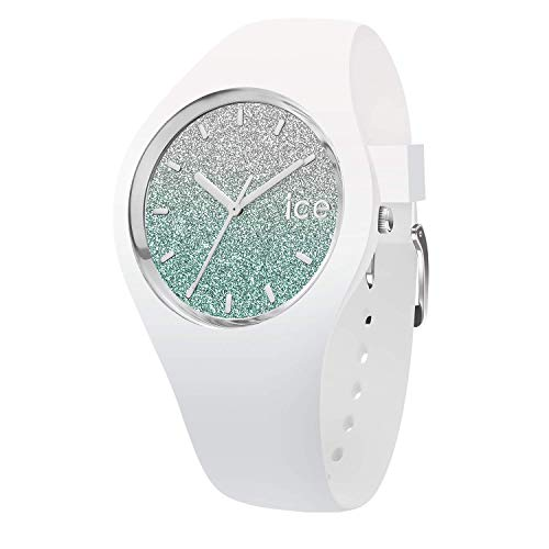 Ice-Watch - ICE lo White Turquoise - Women's Wristwatch with Silicon Strap - 013426 (Small)