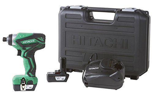 (Hitachi WH10DFL2 12-Volt Peak Cordless Lithium Ion Impact Driver Kit (Lifetime Tool Warranty) )