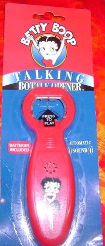 2002 Betty Boop Talking Bottle Opener