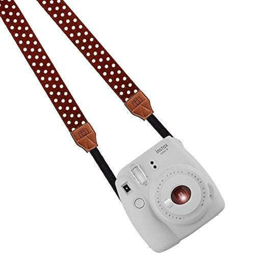 Katia Camera Neck Shoulder Strap Belt for Nikon / Canon / Sony / Olympus / Pentax / Mini 9 / Mini 8 / Mini 7s / Mini 25 / Mini 50s / Mini 90 / DSLR / SLR / DC / Fujifilm Polaroid Instax Camera