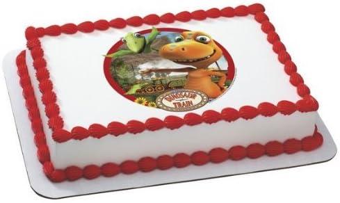 Terrific Amazon Com Dinosaur Train Edible Image Cake Topper Kitchen Dining Personalised Birthday Cards Veneteletsinfo