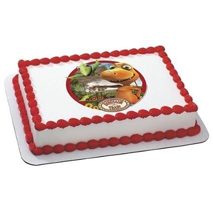 Amazoncom Dinosaur Train Edible Image Cake Topper Kitchen Dining