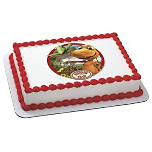 Amazon.com: Dinosaur Train Edible Image Cake Topper ...