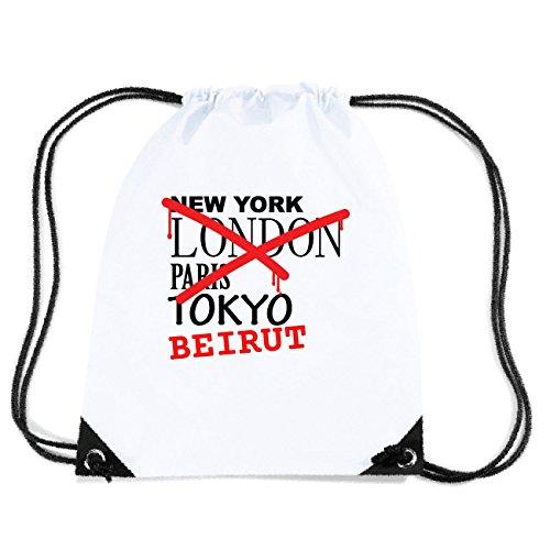 JOllify BEIRUT Turnbeutel Tasche GYM4780 Design: Graffiti Streetart New York
