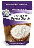 Judee's Unmodified Potato Starch (2.5 lbs) Non-GMO & Gluten Free