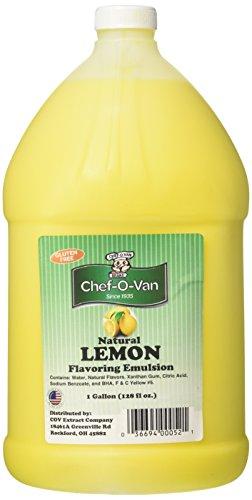 Natural Lemon Flavoring Emulsion -