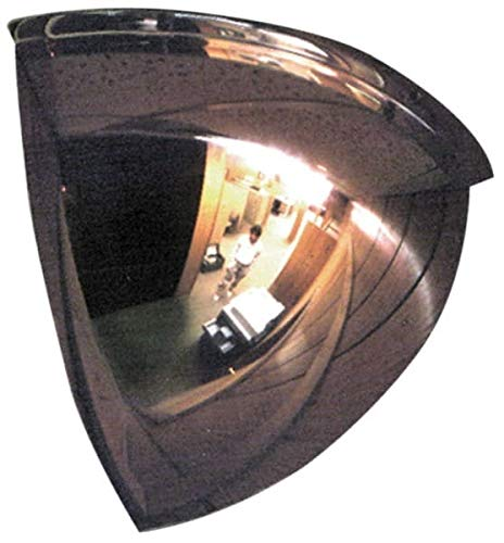 PRO-SAFE- Acrylic Lens, Indoor and Outdoor Quarter Dome Safety, Traffic and Inspection Mirror