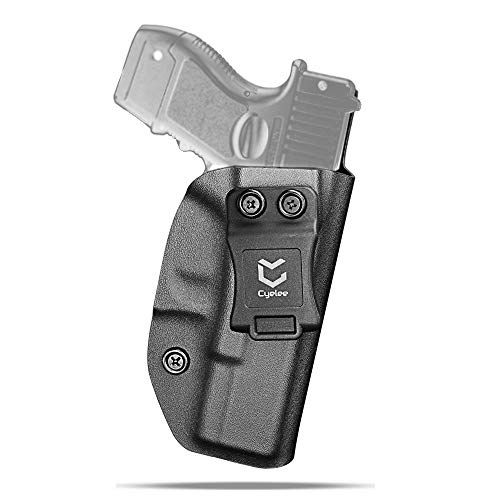 IWB/AIWB Kydex Holster fit Glock 19 19X 23 32 45 Gen 3/4/5 - Appendix Concealed Carry Inside The Waistband - CCW Right Hand - 100% Custom Handmade - Slim and Lightweight-Infantry Vet Owned