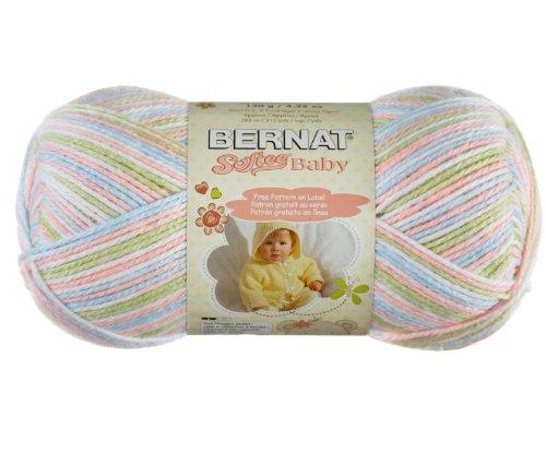 Bernat Softee Baby Yarn, Baby Spring, Single Ball]()