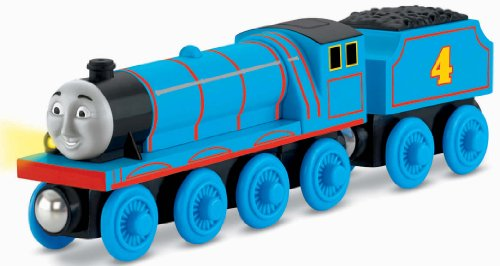 Thomas & Friends Fisher-Price Wooden Railway, Talking Gordon - Battery (Gordon Thomas The Tank Engine)