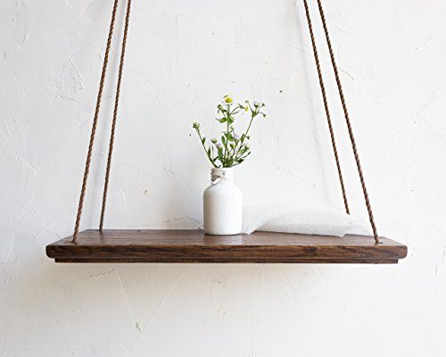 elf Wooden Plant Display Stand 14x6 Inch Decorative Modern Swing Vase Shelves Minimalistic Flower Holder for Test Tubes Bud for Living Room Housewarming Grandma Mothers Day Gift ()