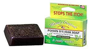 Maries Original - Poison Ivy / Poison Oak All Natural Relief Soap - 2.9 oz