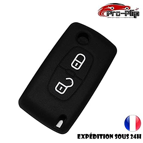 Funda silicona Peugeot 107 207 307 407 106 206 306... negra ...