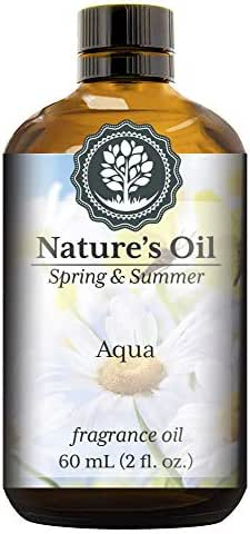 Aqua Fragrance Oil (60ml) For Diffusers, Soap Making, Candles, Lotion, Home Scents, Linen Spray, Bath Bombs, Slime