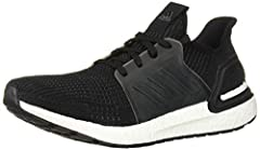 Ultraboost reinvented. These men's shoes reboot key performance technologies to give you a confident and energy-filled run. The knit upper has a second-skin fit and is built with motion-weave technology for adaptive stretch and support. Dual-...