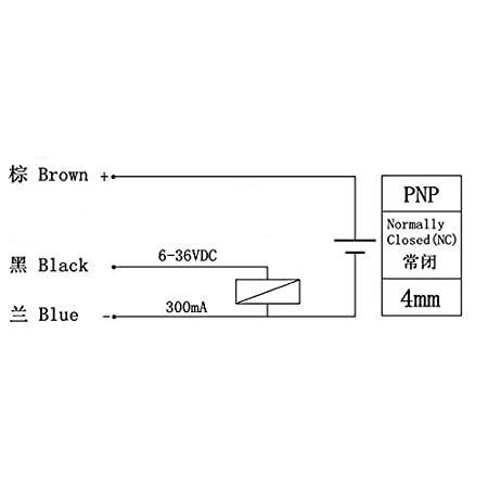 Sensor PROXIMIDAD INDUCTIVO LJ12A3-4-Z/AY PNP NC 4MM: Amazon.es ...