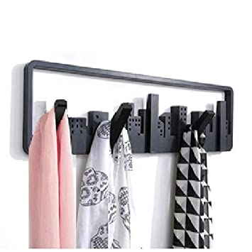 Bhajan Creative European Decorative Wall Hanger Coat Wall Hook Porch Key Clothes Nordic Hook Rack For Clothes Coat Key Rings Scarf Stoles Kitchen Organizer Amazon In Home Improvement