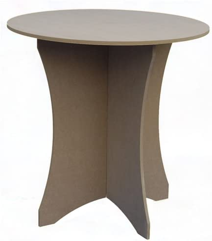Amazon.com : 9 inch Round Decorator Table : Dining Tables