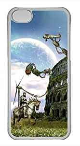 LJF phone case iphone 4/4s case, Cute Colosseum Fantazy iphone 4/4s Cover, iphone 4/4s Cases, Hard Clear iphone 4/4s Covers