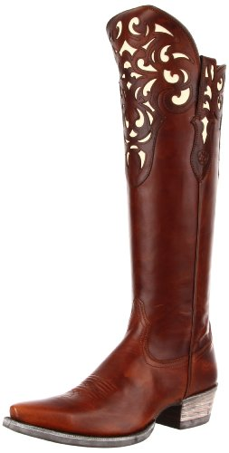 Ariat Women's Hacienda Boot,Vintage Carmel,7 M US