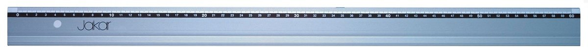 Aluminium Ruler Printed with mm//cm Stainless Steel Cutting Edge 1 Meter