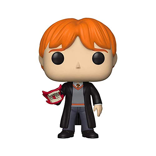 Funko Pop Harry Potter 71 Ron Weasley Vinyl Figure, Multicolor, Talla unica (35517)