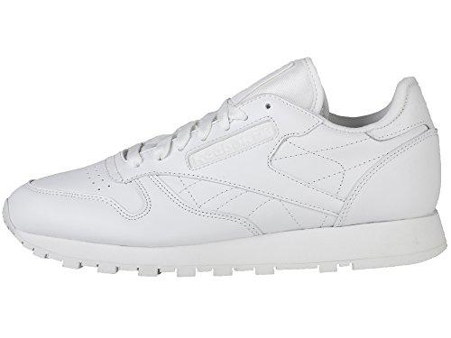 Zapatillas Reebok Cl Leather R12 Blancas / Blancas / Blancas