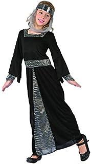 EL CARNAVAL Disfraz Princesa Medieval niña Julieta Talla de 8 a 10 ...