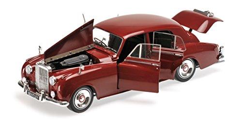 1960 Bentley S2 Red 1/18 Diecast Model Car by Minichamps 100139955 -