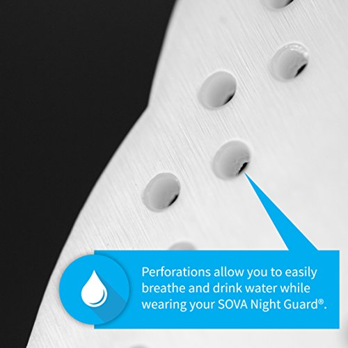 Custom-Fit Night-Time Dental Mouth Guard with Case by SOVA Night Guard (Image #2)