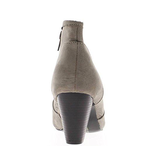 Stiefel Frauen grau bei 7cm Ferse