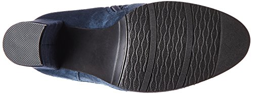 DREAM PAIRS Dark Women's Blue Knee Shoo Over The Boot qZAgOqan