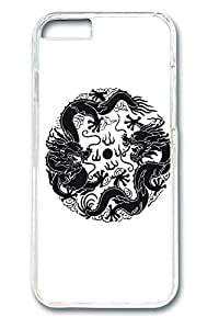 Brian114 China Dragon Oriental Style 32 Phone Case for the iPhone 6 Plus Clear