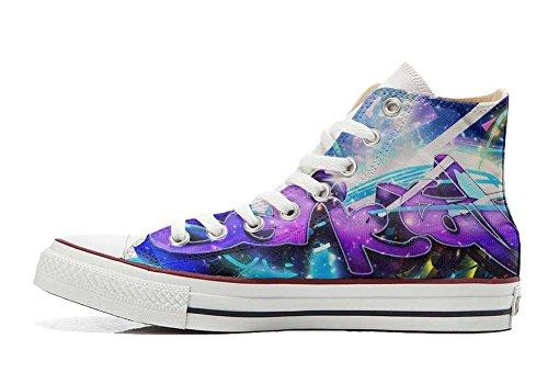 Chaussures Star Hi Personnalisé Converse Et Imprimés Artisanal Coutume Sneaker produit Unisex Style Italien All Street FBq5wY