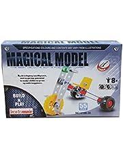 لعبة ميكانو للاطفال معدني ، تركيب دراجة ثلاثية ، تساعد على تنمية مهارات الإبداع عند الأطفال، متعددة الالوان حجم صغير
