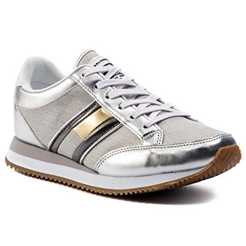 Scarpe Hilfigher Donna Shoes Sportive Tommy Scarpette Pelle Ladies Sneaker HUISqx