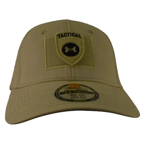 Amazon com: Under Armour IR Patch Fitted Hat (M/L, Olive