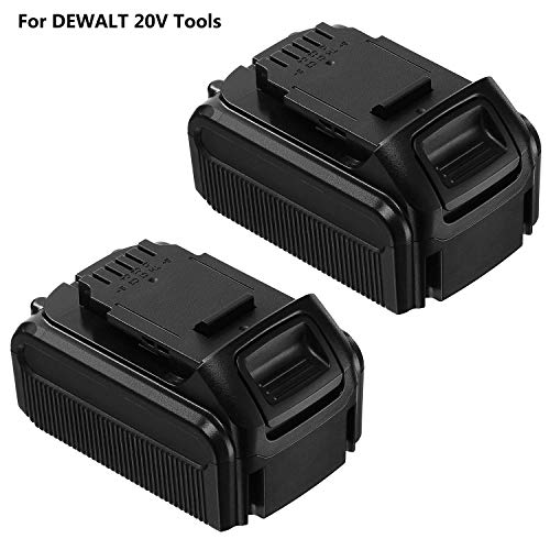 FirstPower 20V 5.5Ah DCB205 Battery Replacement DEWALT 20 Volt Lithium Ion Battery Suit All DEWALT 20V Power Tools