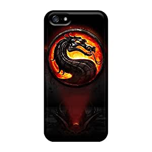 New AiaDx22299hrCcr Mortal Kombat Skin Case Cover Shatterproof Case For Iphone 5/5s