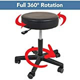 Roscoe Medical - SS7677 Rolling Stool - Stool With