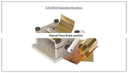!/S/N:20013Bending Machine/SIEG Mini Bending Brake/Manual Press Brake machine by MUCHENTEC