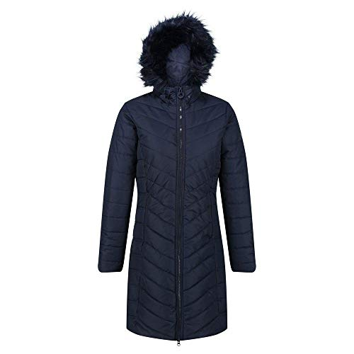 Regatta Women's Fritha Insulated Lined Baffle Quilted Hooded Jacket Jacket