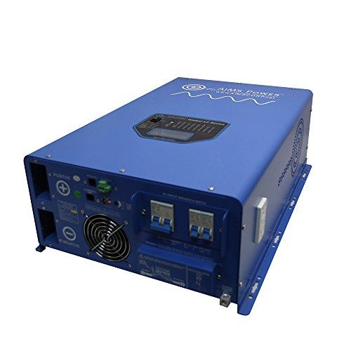 AIMS Power (PICOGLF12KW48V240VS) 12kW 48V DC to 120/240V AC Pure Sine Inverter Charger (Aims Split Phase Inverter compare prices)