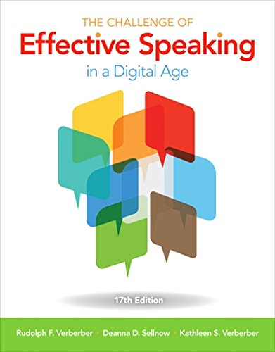 130594819X - The Challenge of Effective Speaking in a Digital Age