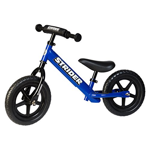 Strider 12 Sport No-Pedal Balance Bike For 18 mos.- 5 years Blue
